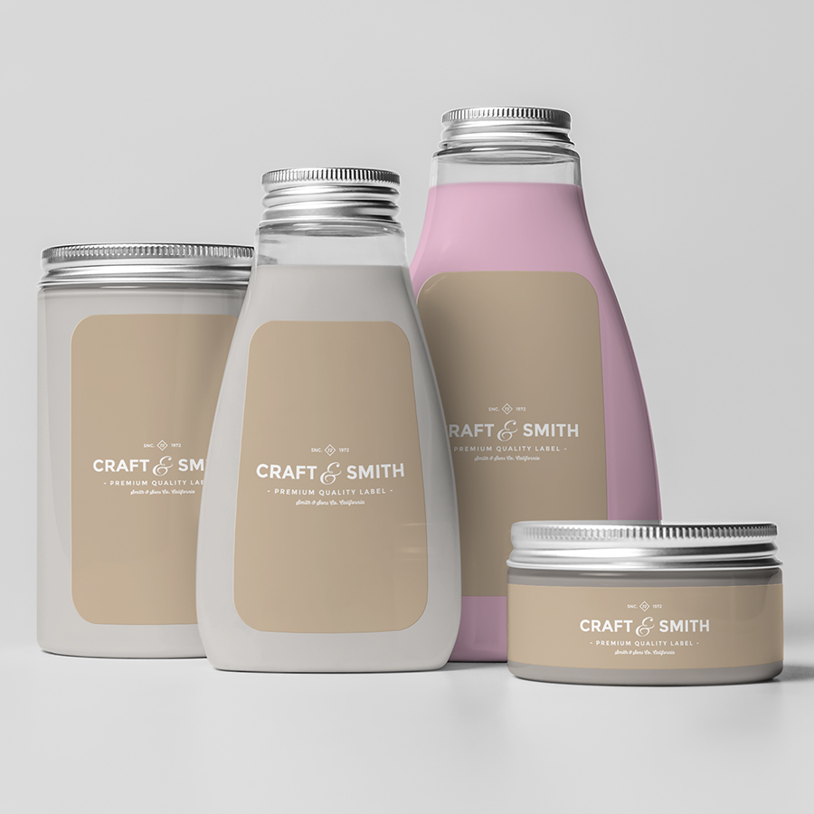 Label Printing for the cosmetic industry
